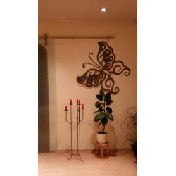 Schmetterling 80x80cm